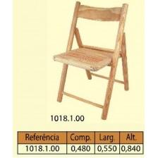 Cadeira articulada em pinho
