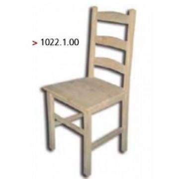 Cadeira maciça modelo bedeta
