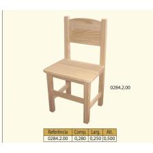Cadeira criança c/ meia costa n=2