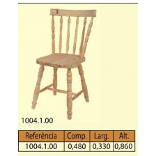 Cadeira rabo bacalhau