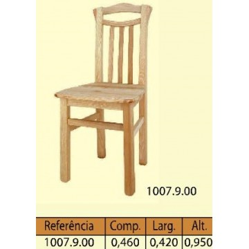 Cadeira ripes curva n: 25