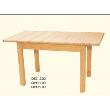 Mesa extensível rectangular