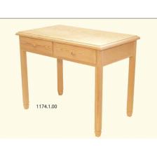 Mesa papeleira 4 patas c/ 2 gavetas