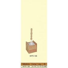 Escobilheiro quadrado