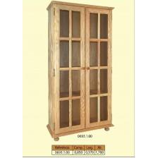 estante com 2 portas para vidro
