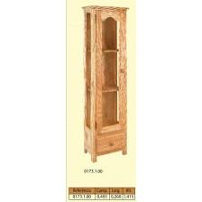 Vitrina parede 1 porta grande para vidro e 1 gaveta.